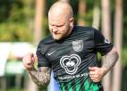 Valmieras futbolistam 200 eiro sods par rupju tvītu