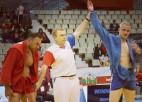 Sambo cīkstonis Reško izcīna Eiropas čempionāta sudrabu