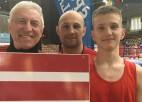 Bokseris Prokudins ar uzvaru sāk Eiropas junioru čempionātu