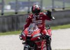 """Mudžello trillerī Petruči izcīna pirmo uzvaru """"MotoGP"""" karjerā"""