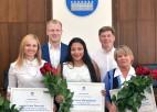 Cīkstone Mamedova tiek sumināta Daugavpils domē