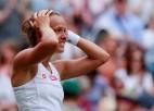 """Čehijas veterāne Stricova 53. """"Grand Slam"""" turnīrā pirmoreiz sasniedz pusfinālu"""