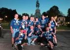"""Bauskas florbola seniori triumfē turnīrā """"European Masters Games"""""""