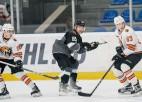 """""""Rīgas"""" hokejisti atgūstas un smagā cīņā otro reizi apspēlē """"Amurskie Tigry"""""""