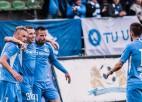"""RFS sakauj čempioni """"Riga"""" un pirmoreiz iekļūst Latvijas kausa finālā"""