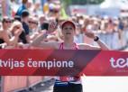 Helmane-Soročenkova kļūst par otro ātrāko Latvijas maratonisti aiz Prokopčukas