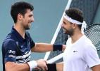 Džokovičs sasniedz finālu Parīzē, Nadals izstājas pirms pusfināla cīņas