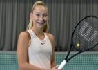 Špaka Pērnavā nopelna pirmo WTA reitinga punktu