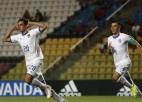 Itālijas U17 futbolisti ar skaistu soda sitienu nodrošina 1/4 fināla dueli ar Brazīliju