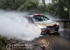 Grjazinam lieliska cīņa ar Lēbu plūdu skartajā Francijas rallijā (+video)