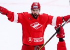 """Daugaviņam rezultatīva piespēle """"Spartak"""" zaudējumā pret Kalniņu"""