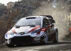 Ožjē kļūst par Montekarlo WRC līderi, Tanaks smagajā avārijā nav guvis nopietnas traumas