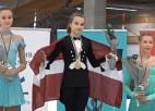 Daiļslidotāja Boļševa Latvijai sarūpē pirmo zeltu kopš 2017. gada