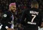 PSG grauj ar 5:0, ''Rennes'' fantastiski atspēlējas