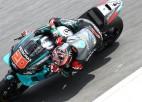 MotoGP testos Sepangas trasē pirmajā dienā ātrākie ''Petronas Yamaha SRT'' braucēji