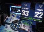 Iemūžināti Sedīnu numuri, Pastrņāks ar <i>hat-trick</i> izvirzās NHL snaiperu vadībā