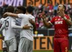 """""""Bayern"""" iesit trīs vārtus 13 minūtēs un atgriežas pirmajā vietā"""
