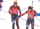 Bendikas un Rastorgujeva duets cīnīsies par augstu vietu pāru stafetē