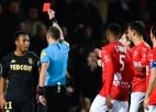 """""""Monaco"""" 30 miljonu pirkumam Martinšam pusgada diskvalifikācija par tiesneša pagrūšanu"""