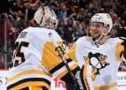"""Bļugers rezultatīvs ceturto spēli pēc kārtas, kaldinot kārtējo """"Penguins"""" uzvaru"""