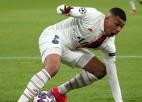"""PSG lielas šaubas par Mbapē dalību, Madrides """"Real"""" bez Kurtuā un Marselu"""