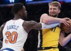 """Ņujorkas """"Knicks"""" labprāt aizmainītu savu dārgāko spēlētāju Rendlu"""