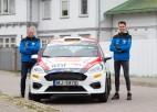 Seska ekipāža pēc pirmā Moncas WRC ātrumposma ieņem trešo vietu klasē