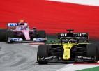 """""""Renault"""" izlemj rīkoties un iesniedz protestu pret """"Racing Point"""""""