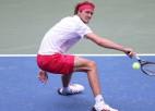 """Zverevam otrais """"Grand Slam"""" pusfināls šogad, Karenjo Bustam – otrais Ņujorkā"""