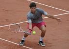 """Nadals sāks cīņu par 13. titulu, Tīmam pirmais mačs """"Grand Slam"""" čempiona statusā"""
