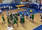 Video: Pārbaudes spēle basketbolā noslēdza ar masu kautiņu