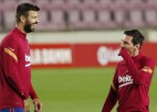 """""""Barcelona"""" ietaupa 122 miljonus, vienojoties ar futbolistiem par algu samazināšanu"""