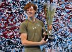 Sinners kļūst par Itālijas jaunāko ATP čempionu