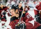 """Video: KHL pastarīšu duelī Rīgas """"Dinamo"""" minimāli piekāpjas Ņižņekamskā"""