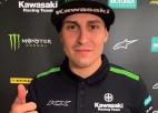 """Atbrīvojis vietu Jonasam, itālis Montičelli kļūst par """"Kawasaki"""" rūpnīcas braucēju"""