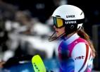 Ģērmane lieliski iesākusi slalomu pasaules čempionātā