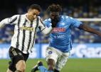 """""""Juventus"""" cieš neveiksmi Neapolē, zaudējums arī līderei """"Milan"""""""