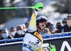 Sulevogam otrais zelts, Kristofersenam pirmā medaļa slalomā