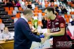 Foto: Latvija uzvar Igauniju un triumfē Četru nāciju turnīrā