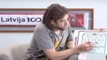 """Video: Sprukts zīmē """"Znaroka vairākumu"""", Daugaviņš skaidro nianses"""