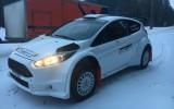 Foto: Berķis testē pasaules rallija līmeņa ''Ford Fiesta R5'' auto