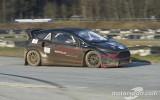 """Foto: Vurcs testē """"World RX Team Austria"""" jauno rallijkrosa auto"""
