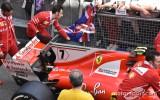 """Foto: """"Spiegi"""" Barselonas trasē piefiksē F1 mašīnu uzlabojumus"""