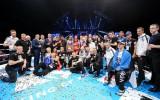 Foto: ''Arēnā Rīga'' skatāmās cīņās noskaidroti labākie KOK cīkstoņi