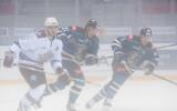 Foto: Rīgas ''Dinamo'' biezā miglā zaudē sezonas atklāšanā Krievijas kūrortā