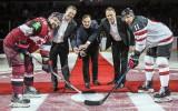 Foto: Līdzjutēji tā arī nesagaida Latvijas vārtus pret Kanādu