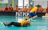 Foto: U11 zēnu komandas aizvadījušas spēles Lielvārdē