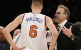 """""""Knicks"""" pagaidu treneris: """"Nevēlos, lai Porziņģis šovasar spēlē izlasē"""""""