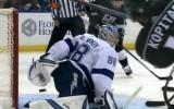 Video: Vasiļevskis <i>piesakās</i> uz NHL gada labāko atvairījumu