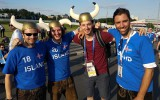 3. diena: islandietes triko tērpos, Mesi un Argentīna apturēti